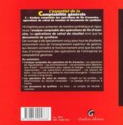 Essentiel De La Comptabilite Generale T2 (L') - 4ème de couverture - Format classique