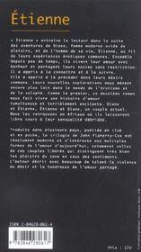 Etienne - 4ème de couverture - Format classique