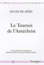 Tournoi de l'antechrist (2e édition) - Couverture - Format classique