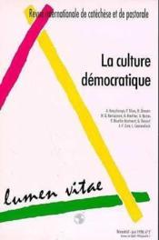 Culture Democratique La Revue Juin 98 - Couverture - Format classique
