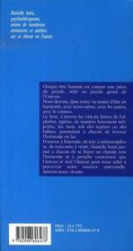 Petit dictionnaire de l'harmonie - 4ème de couverture - Format classique