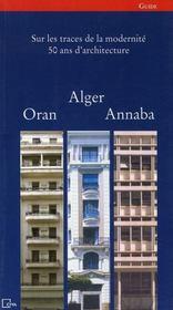 Alger, oran et annaba - Intérieur - Format classique