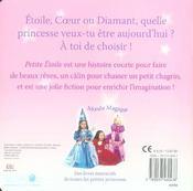 Petite Etoile Princesse - 4ème de couverture - Format classique