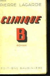 Clinique B - Couverture - Format classique