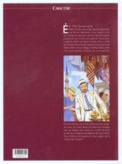 Max fridman t.2 ; la porte d'orient - 4ème de couverture - Format classique