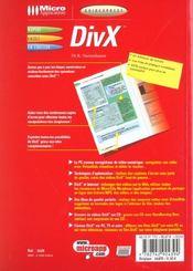 Guidexpress Divx - 4ème de couverture - Format classique