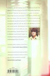 La Tortue Sur Le Dos Ma Lutte Contre La Boulimie - 4ème de couverture - Format classique