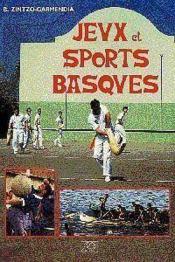 Jeux et sports basques - Couverture - Format classique