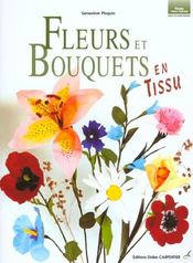 Fleurs Et Bouquets En Tissu - Intérieur - Format classique