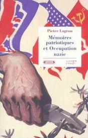 Memoires de l'occupation nazie en europe occidentale - Intérieur - Format classique