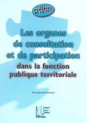 Les Organes De Consultation Et De Participation Dans La Fonction Publique Territoriale - Intérieur - Format classique