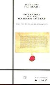 Histoire de la raison d'état - Couverture - Format classique