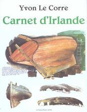Carnet d'Irlande - Intérieur - Format classique