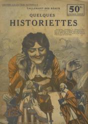 Quelques Historiettes - Couverture - Format classique