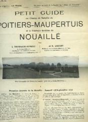 Petit Guide Au Champ De Bataille De Poitiers-Maupertuis Et A L'Abbaye Fortifiee De Nouaille - Couverture - Format classique
