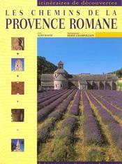 Les chemins de la provence romane - Intérieur - Format classique