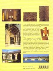 Les Chemins De La Provence Romane - 4ème de couverture - Format classique