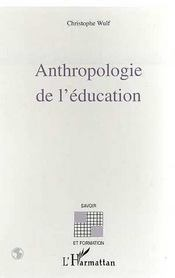 Antropologie de l'éducation - Intérieur - Format classique