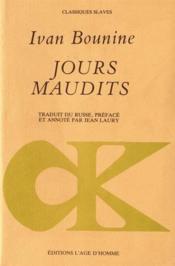 Jours Maudits - Couverture - Format classique