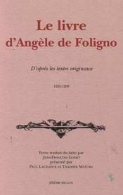 Le Livre D'Angele De Foligno - Couverture - Format classique