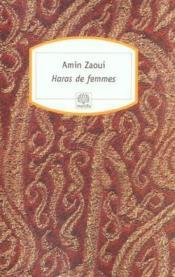 Haras de femmes - Couverture - Format classique
