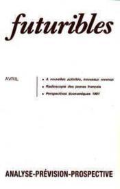 Futuribles N.109 Avril 1987 - Couverture - Format classique