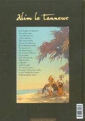 Alim le tanneur t.1 ; le secret des eaux - 4ème de couverture - Format classique