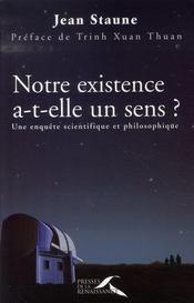 Notre existence a-t-elle un sens ? - Intérieur - Format classique