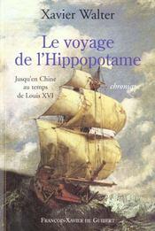Voyage De L'Hippopotame - Intérieur - Format classique