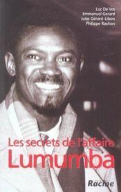 Les secrets de l'affaire lumumba - Intérieur - Format classique