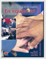 En Equipo Es 3 Libro Del Alumno - Couverture - Format classique