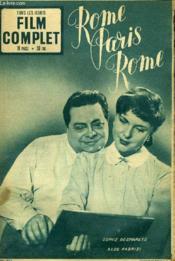 Tous Les Jeudis - Film Complet N° 353 - Rome Paris Rome - Couverture - Format classique