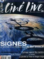 CINE LIVE - N° 62 - SIGNES, le mystère de la création selon M. Night Shyamalan - Couverture - Format classique