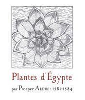 Plantes d egypte, 1581-1584. reedition - Intérieur - Format classique