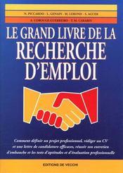 Le Grand Livre De La Recherche D'Emploi - Intérieur - Format classique