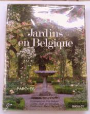 Jardins En Belgique - Couverture - Format classique