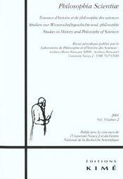 Revue Philosophia Scientiae T.5-2 - Intérieur - Format classique
