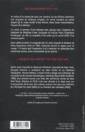 Les Croassements De La Nuit - 4ème de couverture - Format classique