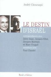 Le destin d'israël - Intérieur - Format classique