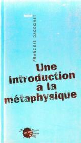 Une introduction à la métaphysique - Couverture - Format classique