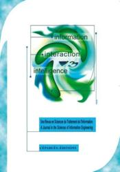 Information-interaction-intelligence t.1 - Couverture - Format classique