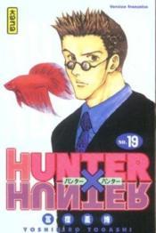 Hunter X Hunter T19 - Couverture - Format classique