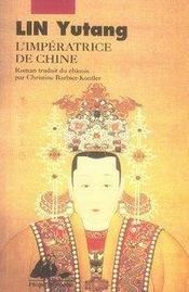 L'impératrice de Chine - Intérieur - Format classique