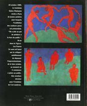 Les fauves - 4ème de couverture - Format classique