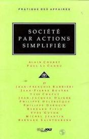 Societe Par Actions Simplifiee - Couverture - Format classique