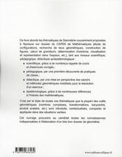 L'Intuition La Creativite Et La Rigueur En Geometrie L'Epreuve Sur Dossier Du Capes Externe De Maths - 4ème de couverture - Format classique