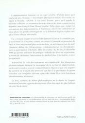 De Nuremberg A La Loi Huriet Essais Therapeutiques Et Recherche Medicale - 4ème de couverture - Format classique