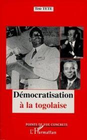 Démocratisation à la togolaise - Couverture - Format classique