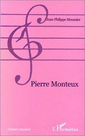 Pierre Monteux - Couverture - Format classique