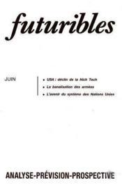 Futuribles N.111 Juin 1987 - Couverture - Format classique